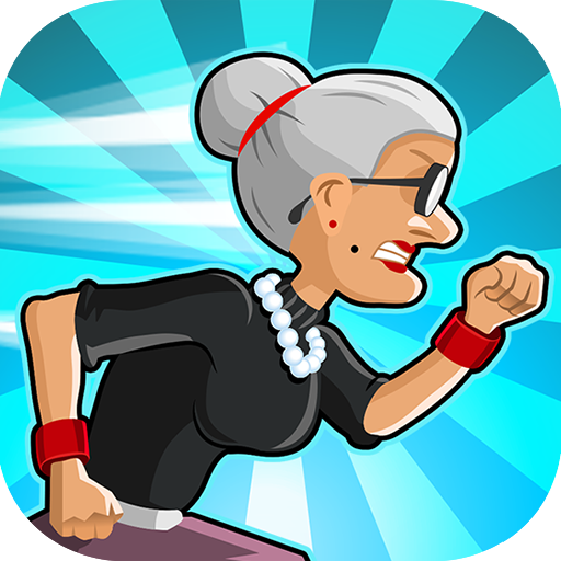 Angry Gran Run – Running Game Pro apk download – Premium app free for Android 2.14.0
