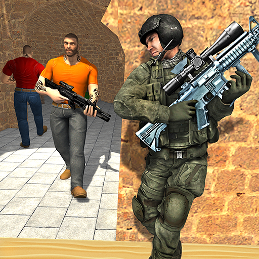 Anti-Terrorist Shooting Mission 2020 Mod apk download – Mod Apk 3.8 [Unlimited money] free for Android.