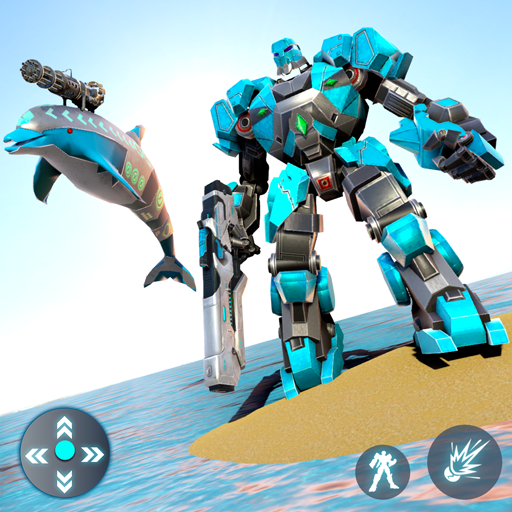 Dolphin Robot Transform: Robot War Pro apk download – Premium app free for Android 1.4