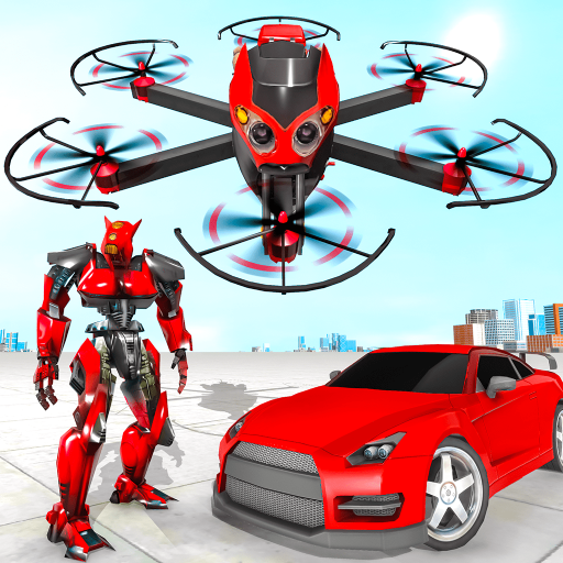 Drone Robot Car Transforming Game– Car Robot Games Pro apk download – Premium app free for Android 1.1