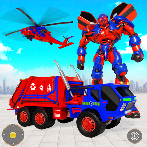 Flying Garbage Truck Robot Transform: Robot Games Mod apk download – Mod Apk 25 [Unlimited money] free for Android.