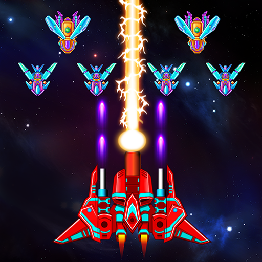 Galaxy Attack: Alien Shooter Mod apk download – Mod Apk 30.7 [Unlimited money] free for Android.