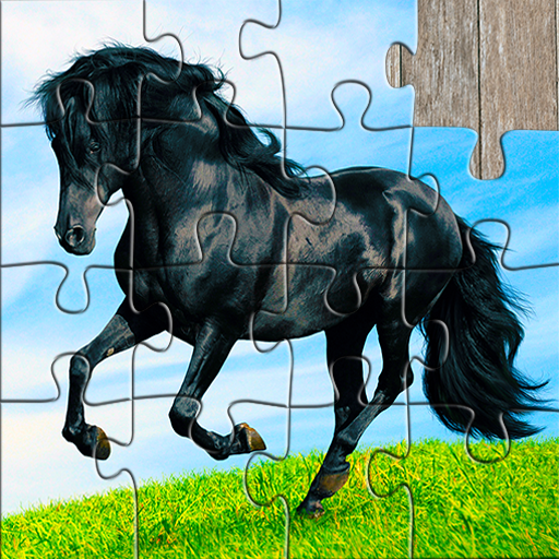Horse Jigsaw Puzzles Game – For Kids & Adults 🐴 Mod apk download – Mod Apk 25.2 [Unlimited money] free for Android.