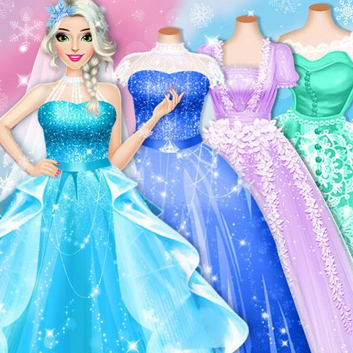 Ice Princess Wedding Dress Up Stylist Mod apk download – Mod Apk 0.10 [Unlimited money] free for Android.