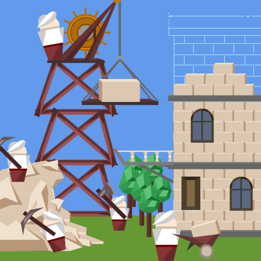 Idle Tower Builder: construction tycoon manager Mod apk download – Mod Apk 1.1.4 [Unlimited money] free for Android.