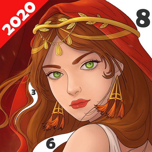 Paint Color: Coloring by Number for Adults Mod apk download – Mod Apk 6.3.4 [Unlimited money] free for Android.