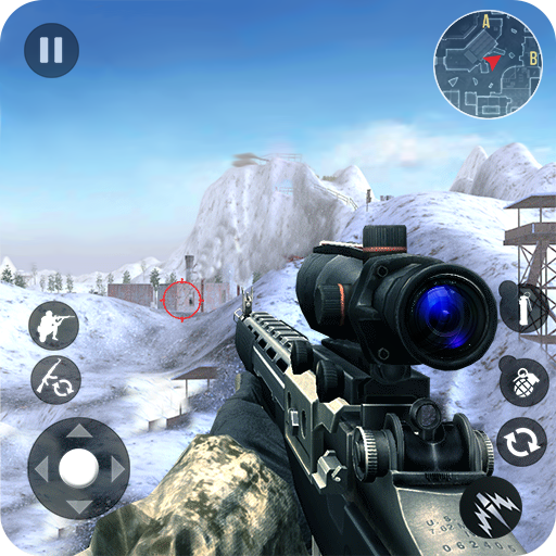 Winter Mountain Sniper – Modern Shooter Combat Pro apk download – Premium app free for Android 1.2.8
