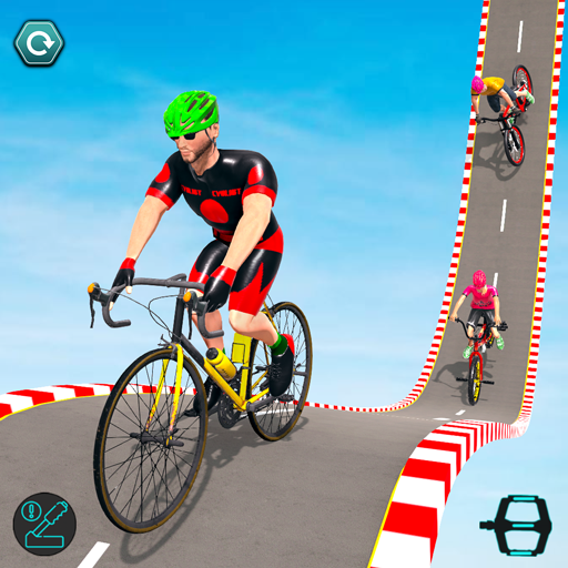 BMX Cycle Stunt Game: Mega Ramp Bicycle Racing Mod apk download – Mod Apk 2.7 [Unlimited money] free for Android.