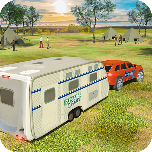 Camper Van Truck Simulator: Cruiser Car Trailer 3D Mod apk download – Mod Apk 1.13 [Unlimited money] free for Android.