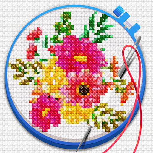 Cross Stitch: Coloring Art Mod apk download – Mod Apk 1.9.808 [Unlimited money] free for Android.