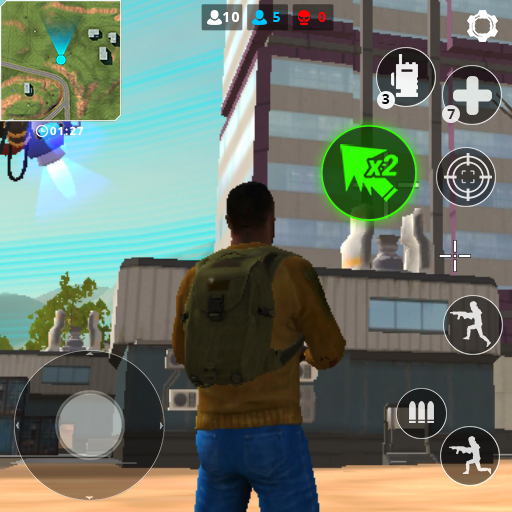 🔫Cyber Fire: Free Battle Royale & Shooting games Mod apk download – Mod Apk 2.2.1 [Unlimited money] free for Android.