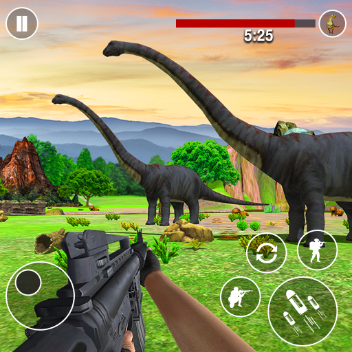 Dinosaurs Hunter Wild Jungle Animals Shooting Game Pro apk download – Premium app free for Android 3.7