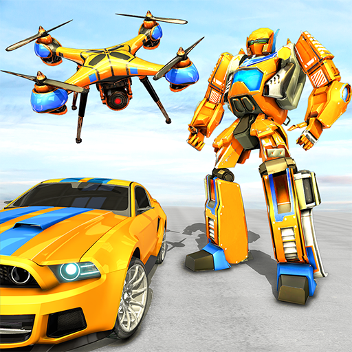 Drone Robot Car Game – Robot Transforming Games Mod apk download – Mod Apk 1.2.1 [Unlimited money] free for Android.