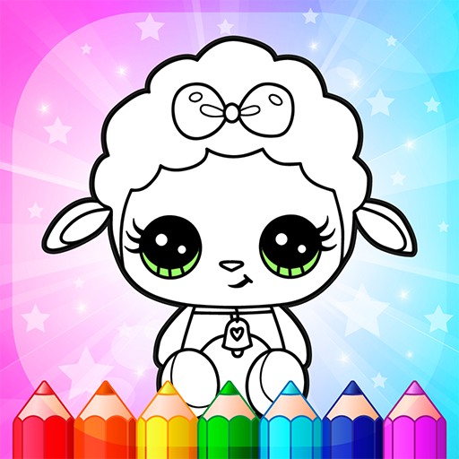 Flower Magic Color-kids coloring book with animals Pro apk download – Premium app free for Android 3.8