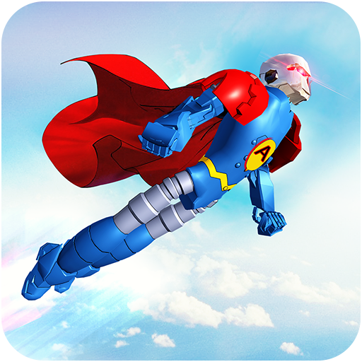 Flying Hero Robot Transform Car: Robot Games Mod apk download – Mod Apk 2.1.6 [Unlimited money] free for Android.