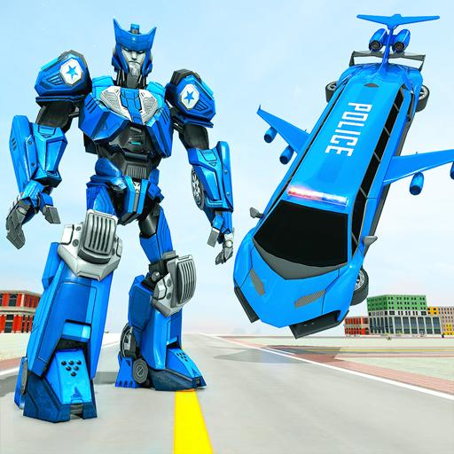 Flying Limo Robot Car Transform: Police Robot Game Mod apk download – Mod Apk 1.0.14 [Unlimited money] free for Android.