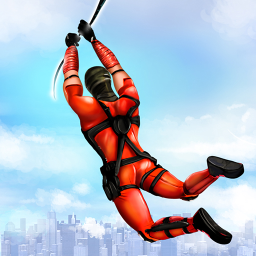 Flying Ninja Rope Hero: Light Speed Ninja Rescue Mod apk download – Mod Apk 3.4 [Unlimited money] free for Android.
