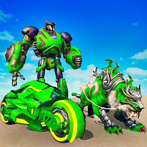 Flying Tiger Attack: Flying Bike Transformation Mod apk download – Mod Apk 1.0.7 [Unlimited money] free for Android.