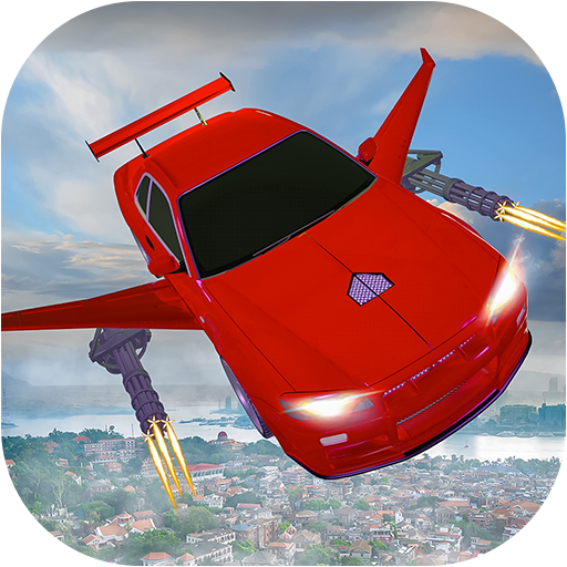 Flying car Shooting: Ultimate car Flying simulator Mod apk download – Mod Apk 1.6 [Unlimited money] free for Android.