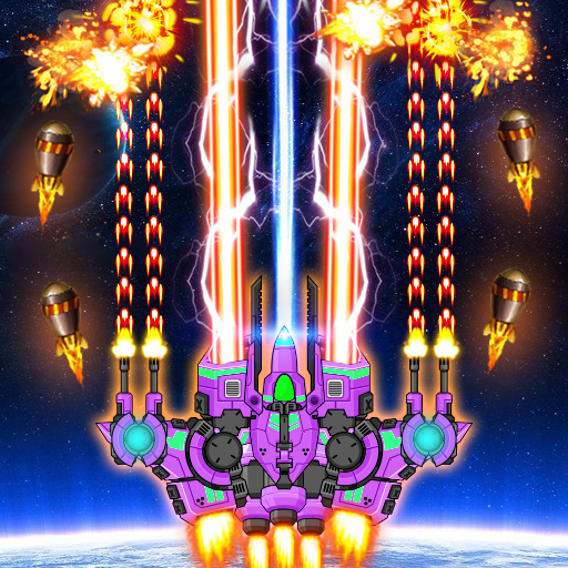 Galaxy Shooter Battle 2020 : Galaxy attack Mod apk download – Mod Apk 1.1.5 [Unlimited money] free for Android.