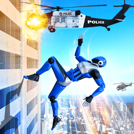 Grand Police Robot Speed Hero City Cop Robot Games Pro apk download – Premium app free for Android 22