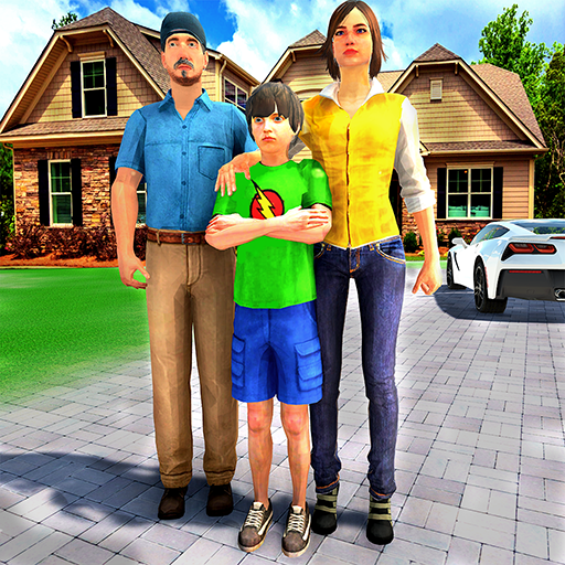 Happy Family Life Dad Mom – Virtual Housewife Care Mod apk download – Mod Apk 1.1 [Unlimited money] free for Android.