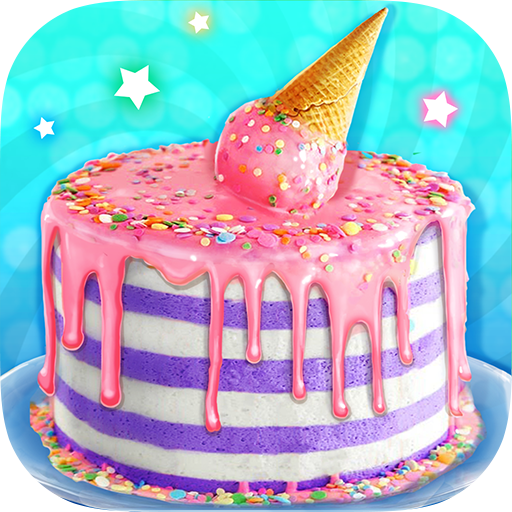 Ice Cream Cone Cake – Sweet Trendy Desserts Mod apk download – Mod Apk 1.2 [Unlimited money] free for Android.