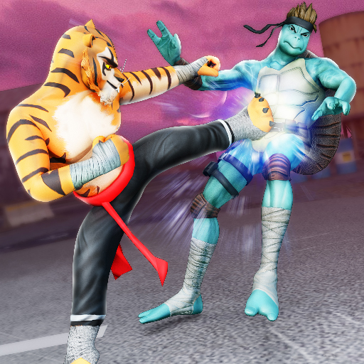 Kung Fu Animal Fighting Games: Wild Karate Fighter Mod apk download – Mod Apk 1.0.7 [Unlimited money] free for Android.