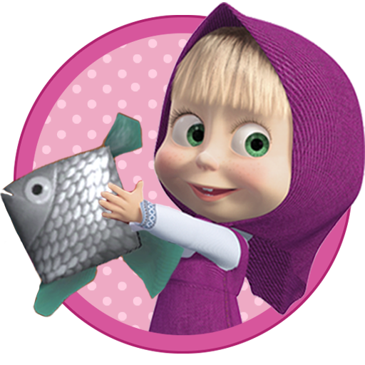 Masha and the Bear: Kids Fishing Mod apk download – Mod Apk 1.2.2 [Unlimited money] free for Android.