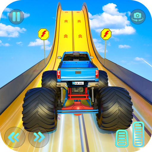 Monster Truck Mega Ramp Stunts Extreme Stunt Games Mod apk download – Mod Apk 1.34 [Unlimited money] free for Android.