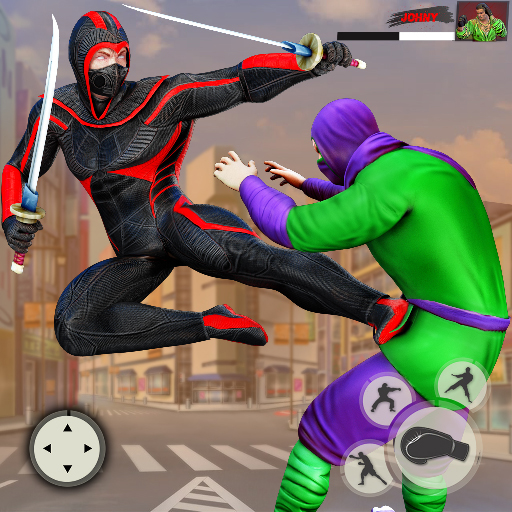 Ninja Superhero Fighting Games: City Kung Fu Fight Mod apk download – Mod Apk 7.0.4 [Unlimited money] free for Android.