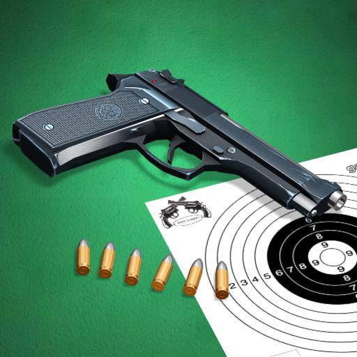 Pistol shooting at the target.  Weapon simulator Mod apk download – Mod Apk 4.5 [Unlimited money] free for Android.