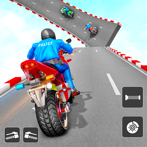 Police Bike Stunt Games: Mega Ramp Stunts Game Mod apk download – Mod Apk 1.1.0 [Unlimited money] free for Android.