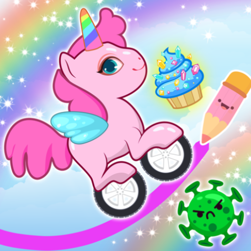 Pony Go : Drawing Race – Rainbow Paint Lines Mod apk download – Mod Apk 1.1.2 [Unlimited money] free for Android.