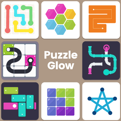 Puzzle Glow : Brain Puzzle Game Collection Mod apk download – Mod Apk 2.1.41 [Unlimited money] free for Android.