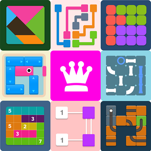 Puzzledom – classic puzzles all in one Mod apk download – Mod Apk 7.9.96 [Unlimited money] free for Android.