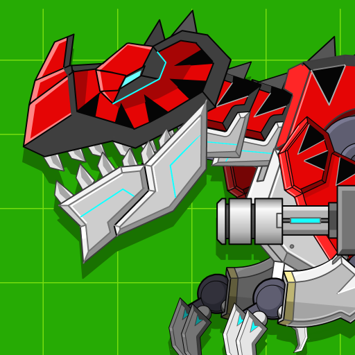Red T-Rex Robot Dinosaur Mod apk download – Mod Apk 2.5 [Unlimited money] free for Android.