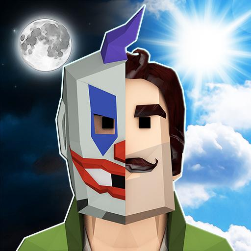 Scary Clown Man Neighbor. Seek & Escape Mod apk download – Mod Apk 1.14 [Unlimited money] free for Android.
