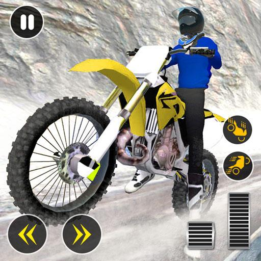 Snow Mountain Bike Racing 2019 – Motocross Race Pro apk download – Premium app free for Android 2.1