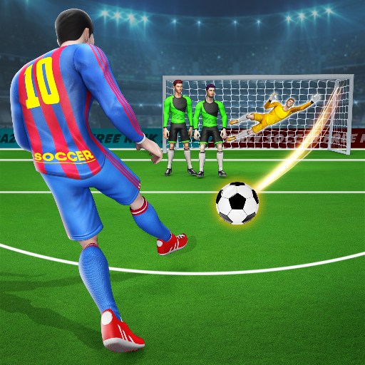 Soccer Kicks Strike: Mini Flick Football Games 3D Mod apk download – Mod Apk 4.1 [Unlimited money] free for Android.