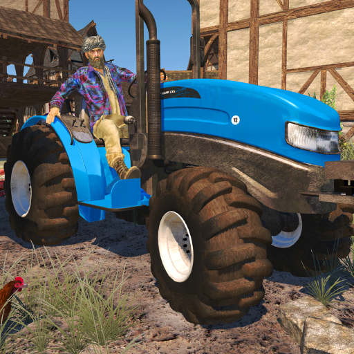 Tractor Farming – Big Farm Simulator Tractor Games Mod apk download – Mod Apk 1.20 [Unlimited money] free for Android.