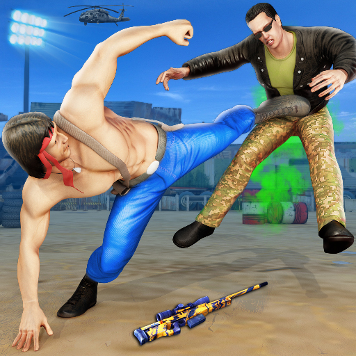 US Army Fighting Games: Kung Fu Karate Battlefield Mod apk download – Mod Apk 1.4.0 [Unlimited money] free for Android.