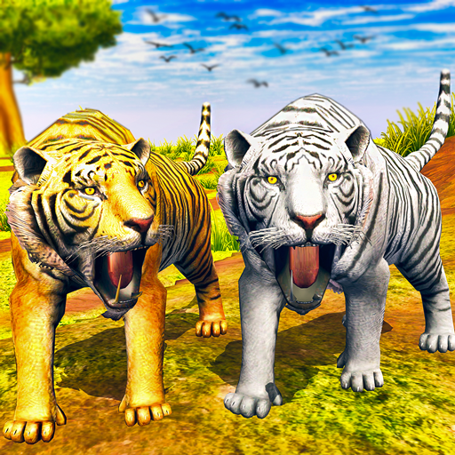 Virtual Tiger Family Simulator: Wild Tiger Games Mod apk download – Mod Apk 1.2 [Unlimited money] free for Android.