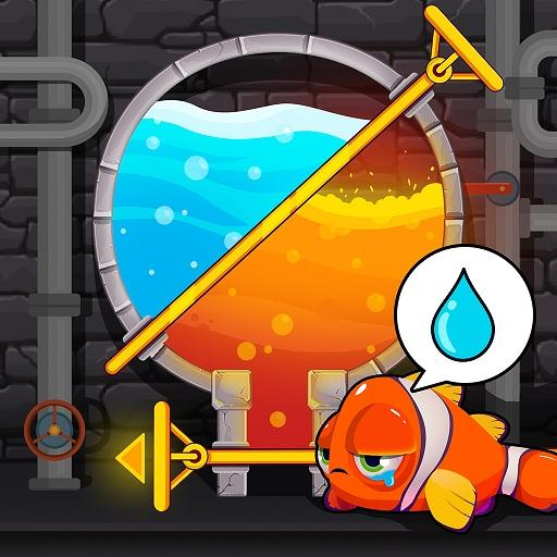 Water Puzzle – Fish Rescue & Pull The Pin Pro apk download – Premium app free for Android 1.0.23