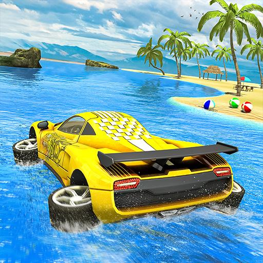 Water Surfer car Floating Beach Drive Pro apk download – Premium app free for Android 1.17