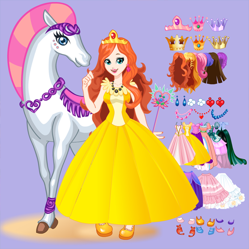 White Horse Princess Dress Up Mod apk download – Mod Apk 5.0.640 [Unlimited money] free for Android.