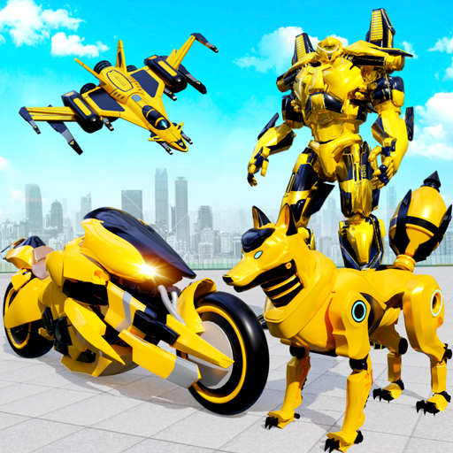 Wild Fox Transform Bike Robot Shooting: Robot Game Mod apk download – Mod Apk 18 [Unlimited money] free for Android.