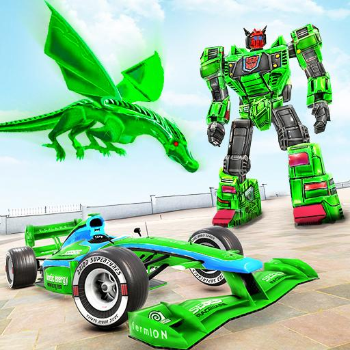 Dragon Robot Car Game – Robot transforming games Mod apk download – Mod Apk 1.2.9 [Unlimited money] free for Android.