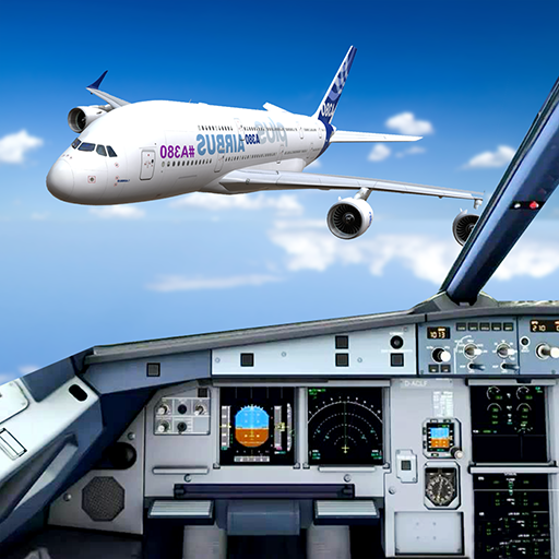 Extreme Airplane simulator 2019 Pilot Flight games Mod apk download – Mod Apk 4.5 [Unlimited money] free for Android.