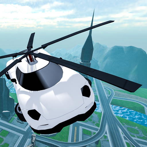 Flying Car Rescue Flight Sim Pro apk download – Premium app free for Android